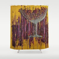 :: Afternoon Wine :: Shower Curtain by :: GaleStorm Artworks ::