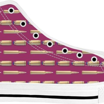 Bullets Shoes White/Purple Tops