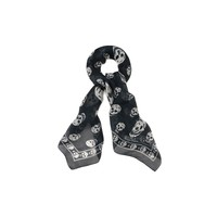 Women Silk scarf - Women Skull scarves on ALEXANDER MCQUEEN Online Store