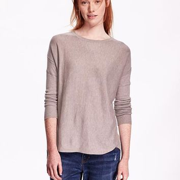 Old Navy Womens Lightweight Drop Shoulder Sweater