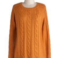 Sugar and Pumpkin Spice Sweater | Mod Retro Vintage Sweaters | ModCloth.com