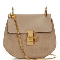 Drew small suede and leather cross-body bag | Chloé | MATCHESFASHION.COM US