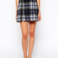 Minkpink Miss The Bus Skirt In Check at asos.com