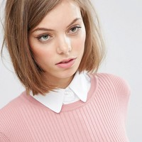 ASOS 2 Pack Bib Collar at asos.com