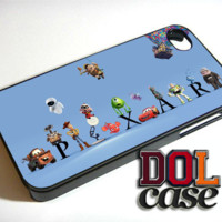 pixar Friends iPhone Case Cover|iPhone 4s|iPhone 5s|iPhone 5c|iPhone 6|iPhone 6 Plus|Free Shipping| Beta 749