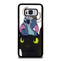 STITCH AND TOOTHLESS Samsung Galaxy S8 Case Cover
