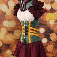 NEW Waist 37 to 39 Boba Fett- Star Wars Corset