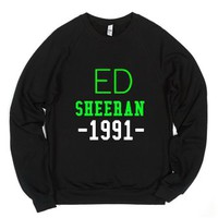 Ed Sheeran -1991--Unisex Black Sweatshirt