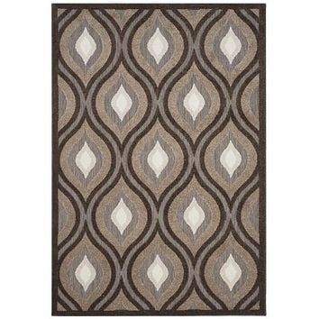 Safavieh Cottage COT921P Light Brown / Brown Rug