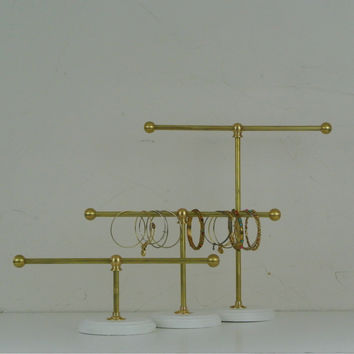 Solid Brass Jewelry Tree