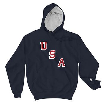 USA Forgotten Miracle Premium Champion Collab Hoodie