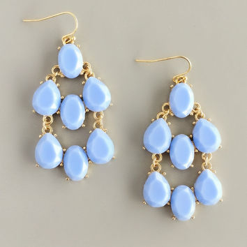 Pastry Shop Periwinkle Earrings