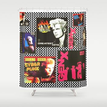 idol Shower Curtain by Kathead Tarot