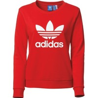 adidas Women's Trefoil Crewneck Sweatshirt | DICK'S Sporting Goods