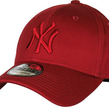 NY Yankees New Era 3930 League Essential Cardinal Stretch Fit Baseball Cap