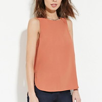 Contemporary Zip-Back Top