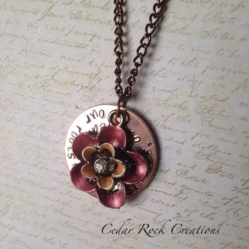 Sisters Necklace - Hand Stamped Necklace