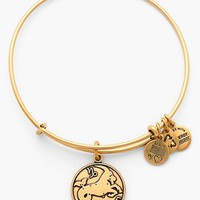 Women's Alex and Ani 'Capricorn' Adjustable Wire Bangle