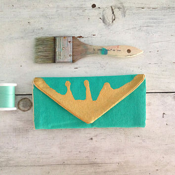 Custom women's wallet with 10 color options/cash envelope wallet hand painted from canvas