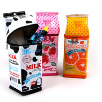 New A MILK CARTON PENCIL CASE CONTAINTER POUCH PENBOX BAGS Cute Useful Exciting