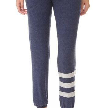 Sweater Knit Cozy Stripes Sweatpants