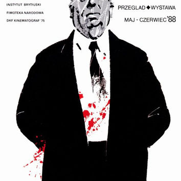 Alfred Hitchcock Film Festival 27x40 Movie Poster (1988)