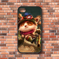Teemo League of Legends iPhone 4/4s/5, Samsung Galaxy S3/S4 & iPod 4/5 Case. Choose the option