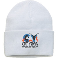 CAT YOGA MASTER - One Size Fits Most Knit Cap