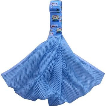 Toddler Backpack class Summer Mesh Breathable Baby Carrier Net Front Facing One Shoulder Toddler Carrying Hipseat Portable Ergonomic Wrap Sling Carrier AT_50_3