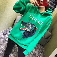 DCCKN7K 'Gucci'' Fashion Pattern Embroidery Hot Hoodie