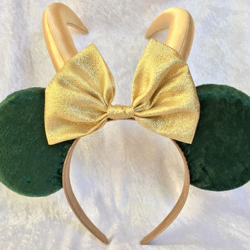 Loki Themed Mouse Ears