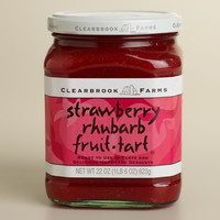 Clearbrook Farms Strawberry Rhubarb Fruit Tart Filling - World Market