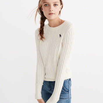 ICON CABLE SWEATER