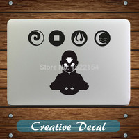 The Last Airbender Avatar Notebook Decal Sticker for MacBook Pro 13 Air 11 Retina Lenovo Mac Computer HP Acer 15.6 Laptop skin