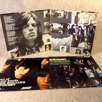 Rolling Stones - Three LP Record Albums - Out Of Our Heads, Hot Rocks 1964-1971, Got Live If You Want It - Rock Vinyl