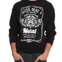 Miss May I Lion Crewneck Sweatshirt | Hot Topic