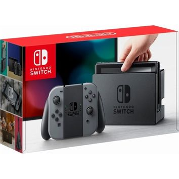 Nintendo - Switch 32GB Console - Gray Joy-Con | Overstock.com Shopping - The Best Deals on Switch