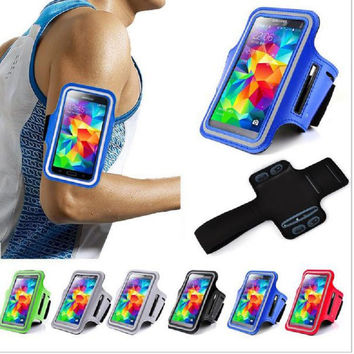 Bags Outdoor Sport Running Arm Band Gym Strap Holder Case For Samsung Galaxy S3 S4 S5 S6 S7 Grand Prime J3 2 J5 A3 A5 2016 cover