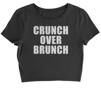 Crunch Over Brunch Cropped T-Shirt