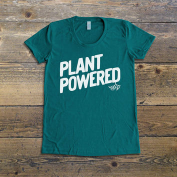 Vegan Shirt - Vegan T-Shirt - Vegan Tee - Vegan Apparel - Plant Powered