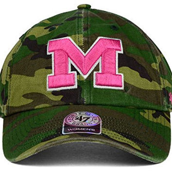 Michigan Wolverines New NCAA Women's Fashion Clean Up Adjustable Fit Hat Cap - One Size Fits All