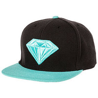 The Emblem Snapback in Black