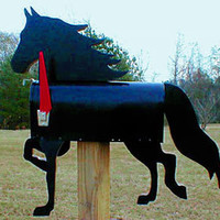 Performance Morgan Horse Mailbox