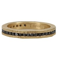 Todd Reed Channel Set Eternity Band