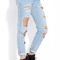 Street Chic Destroyed Jeans