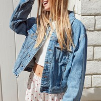 John Galt Oversized Trucker Jacket at PacSun.com
