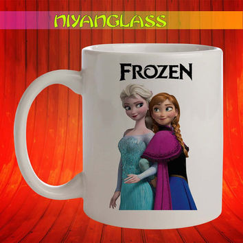 frozen princess mug, frozen princess cup, frozen princess disney,  personalized cup, funny mugs, birthday ceramic mug