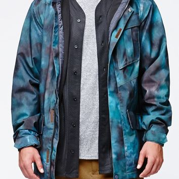 Volcom Mails Snow Jacket - Mens Tee - Multi Color