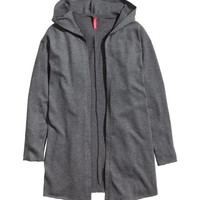 Hooded Cardigan - from H&M