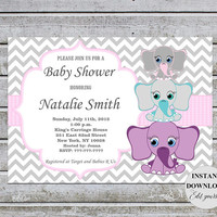 Baby Shower Invitation Neutral Baby Shower Invites Baby Shower Invitations Editable File FREE Thank You card (50ptp1) Instant Download